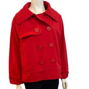 LULULEMON Currant Red Coco Soft Shell Jacket - 12